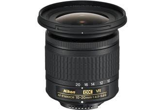 Nikon AF-P DX NIKKOR 10-20mm f/4.5-5.6G VR Lens - (Aperture Range: f/4.5 to f/29)