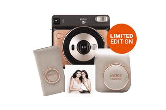 FujiFilm Instax Square SQ6 Instant Camera Limited Edition Deluxe Pack