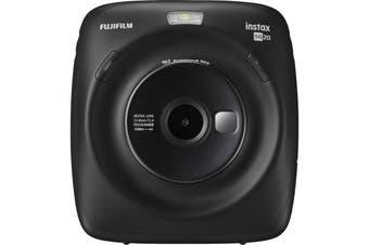 FujiFilm Instax Square SQ20 Hybrid Instant Camera with Printer -  Black
