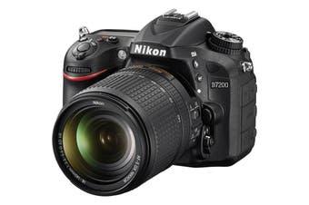 Nikon D7200 Digital SLR Camera 24.2 MP DX-Format CMOS w/ AF-S 18-140mm NIKKOR Lens