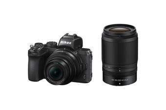 Nikon Z50 Mirrorless Digital Camera with 16-50mm & 50-250mm Twin Lens Kit