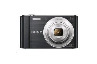 Sony Cyber-shot DSCW810 Digital Camera (Black)  20.1 megapixels plus 6x optical zoom