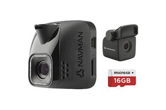 Navman Focus 400 Dual Dash Cam 1080P Full HD Recording front and rear with 2inch screen