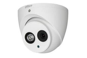 Dahua HAC-HDW1220EM  2MP HDCVI IR Turret Camera.   IP 67