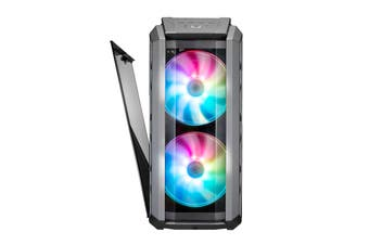 Cooler Master MasterCase H500P ARGB ATX MidTower Gaming Case 2X 200MM ARGB