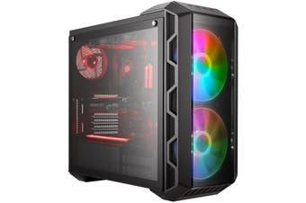 Cooler Master MasterCase H500 ARGB ATX MidTower Gaming Case Tempered Glass