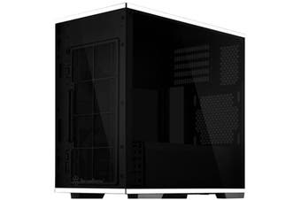 Silverstone LD01 Black mATX Gaming Case Rad Supported