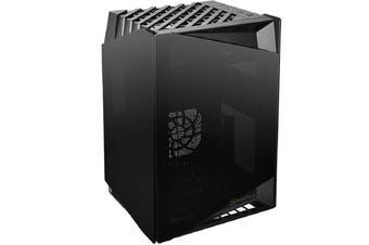Silverstone LD03 Black ITX Gaming Case Stack Effect Design