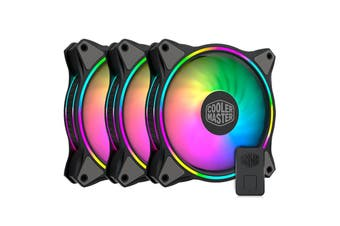 Cooler Master MasterFan MF120 Halo 3 in 1 Kit ARGB PWM 120mm ARGB Fan