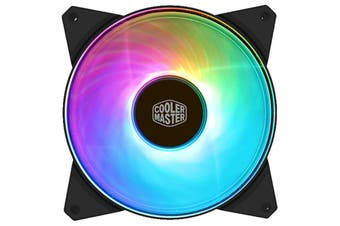 Cooler Master MasterFan Addressable PWM RGB FAN 140mm Certified compatible with ASUS