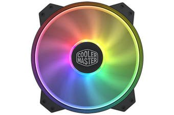 Cooler Master MasterFan MF200R Addressable RGB FAN 200mm Certified compatible with ASUS