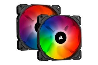 Corsair SP RGB  PRO 140 Dual Fan Pack SP140 RGB PRO Performance Fan DualFan Pack with Controller