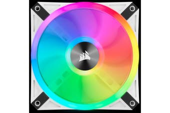 Corsair QL 120 RGB WHITE 120mm RGB LED Fan