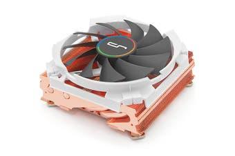 CRYORIG C7 Cu Top Flow Low Profile CPU Cooler with Full Copper top