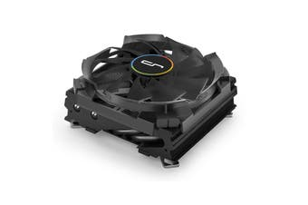 CRYORIG C7 Copper Top Flow Low Profile CPU Cooler with Full Copper Graphene Coating