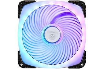 Silverstone AP 124 Addressable RGB Air Penetrator frame design 120mm Case Fan