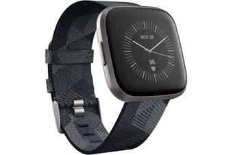 Fitbit Versa 2 Health and Fitness Smart Watch - SE SMOKE WOVEN