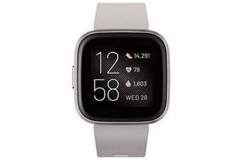 Fitbit Versa 2 Health and Fitness Smart Watch - MIST GREY