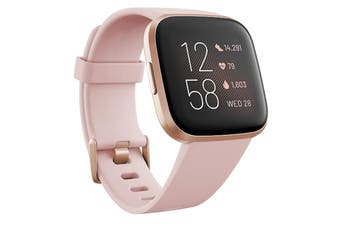 Fitbit Versa 2 Health and Fitness Smart Watch - PETAL/COPPER ROSE