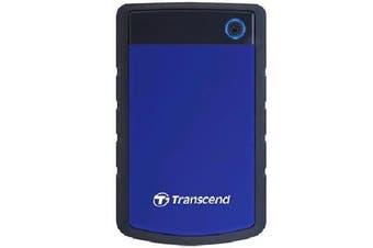 "Transcend 2TB StoreJet 25H3B 2.5"" USB 3.0 External HDD"