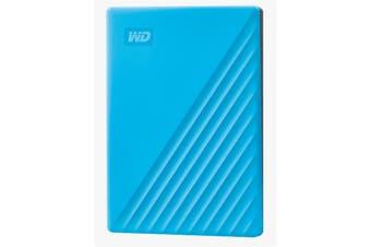 "WD My Passport 2TB 2.5"" USB 3.0 Portable External HDD - Blue  Colour"