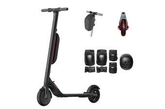 Segway Ninebot ES4 Kick Scooter with Bonus Head Handle Bag