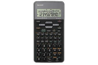 Sharp EL531THBWH Scientific Calculator with protective cover