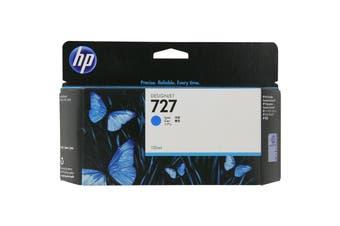 HP Ink Cartridge 727 130ml Cyan B3P19A