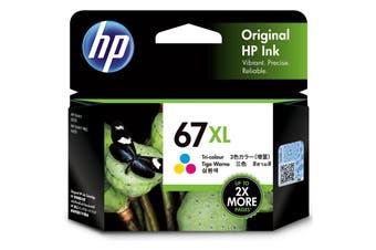 HP Ink Cartridge 67XL Tri-color