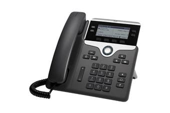 Cisco CP-7841-K9= 7800 Series PoE Voip Phone (Power Supply Not Included) Four line and programmable