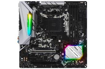 ASRock B450M Steel Legend mATX motherboard For AMD Ryzen 2nd/3rd Gen