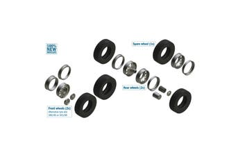 Italeri - 1/24 - European Truck Tires & Rims