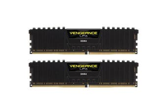 Corsair Vengeance LPX Black 16GB RAM 2 X 8GB