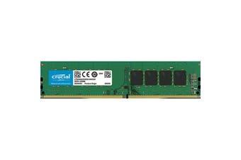Crucial 4GB DESKTOP DDR4 2666MHz CL19 SR x8 Unbuffered DIMM 288pin DDR4 Platform ONLY