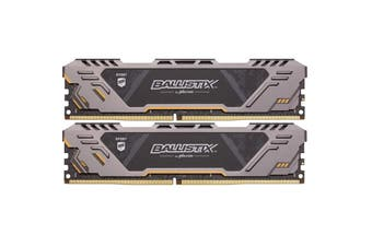 Crucial Ballistix Sport LT ASUS TUF Edition 16GB Kit (8GBx2) DDR4 2666 MT/s (PC4-21300) CL16 DR x8