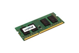 Crucial 4GB LAPTOP DDR3 1600Mhz SODIMM 1.35V/1.5V 204pin Non ECC PC3-12800 Laptop RAM