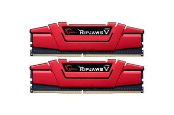 G.SKILL Ripjaws V Series Red DDR4 Desktop Memory 2666Mhz (2 x 8GB) 16GB RAM CL15 1.2v
