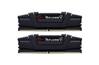 G.SKILL Ripjaws V Series Black 32GB DDR4 Desktop Memory 3200Mhz (2 x 16GB) 16GB RAM CL16 1.35v