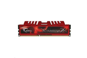 G.SKILL RipjawsX 8GB RAM(1x8GB) DDR3 1866MHz (PC3 14900) Ultra Performance Desktop Memory 240-Pin