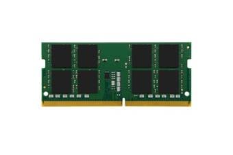 Kingston Laptop 32GB - DDR4 - 2666MHz-Non-ECC unbuffered - CL19 - 1.2v - SODIMM