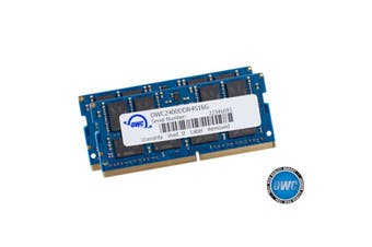 OWC 32GB memory for MAC (16GBX2) DDR4-2400MHz SO-DIMM Mac Mini Late 2018 iMac 21.5 Mid 2017 iMac 27