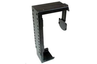 Brateck XC-7 Black CPU PC Holder Under Desk Computer Mount