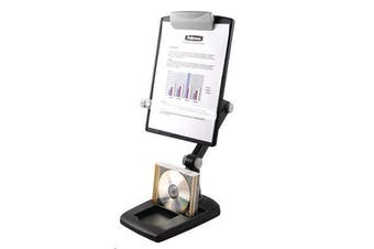 FELLOWES COPYHOLDER ERGONOMIC WEIGHTED BASE
