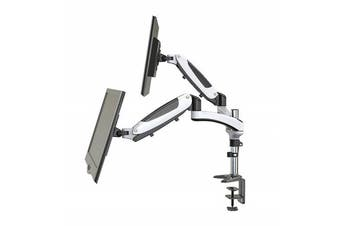 "Huanuo HNDSK1 Dual Monitor Mount for 15""- 27"" LCD screens"