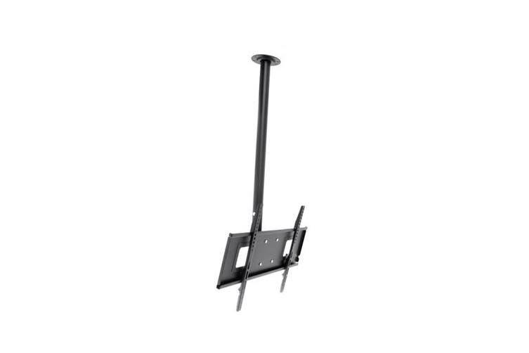 "Loctek 32""-65"" PSR110M TV Ceiling Mount Max Load 60kg. Max Vesa 600x400. Tilt -2 +15Deg. 510-810mm"