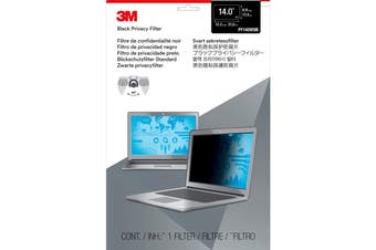 3M PF14.0W Laptop Privacy Filter (16:9) Black