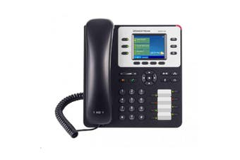 Grandstream GXP2130 HD IP Phone 3-line Colour Screen PoE: 3-lines and up to 3 SIP accounts. Dual