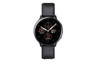 Samsung Galaxy Watch Active 2 Smart Watch 4G Model 44mm Aqua Black Stainless Steel Case with Aqua