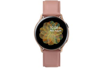 Samsung Galaxy Watch Active 2 Smart Watch 4G Model 40mm Lily Gold Stainless Steel Case with Lily