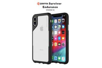 Griffin Survivor Edurance for iPhone Xs Black/Clear PART#GIP-010-BGY